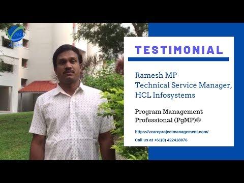 ramesh-mp-|-pmi-pgmp-|-technical-service-manager-|-hcl-infosystems-|-singapore-|-testimonial