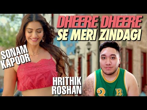 Hrithik Roshan, Sonam Kapoor - Dheere Dheere Se Meri Zindagi REACTION!!!