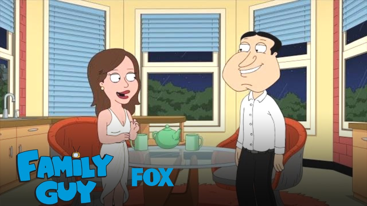Quagmire Asks Courtney If She'll Move In | Season 17 Ep  15