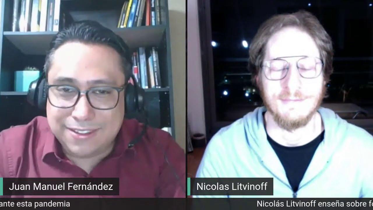 Nicolás Litvinoff da formas innovadoras de ganar ingresos en esta pandemia