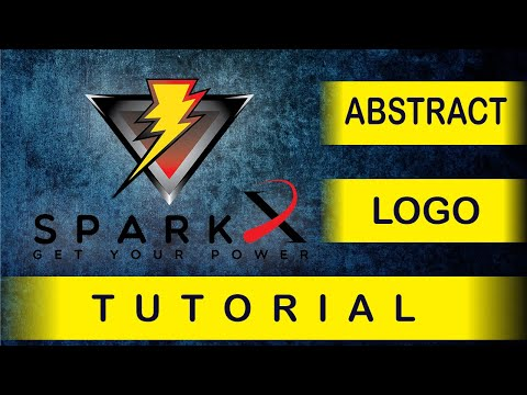 Abstract Logo Design, Adobe Illustrator CC Tutorial (Urdu / Hindi). thumbnail
