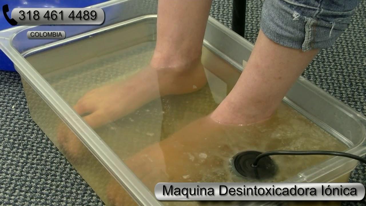 eliminar toxinas del cuerpo por los pies