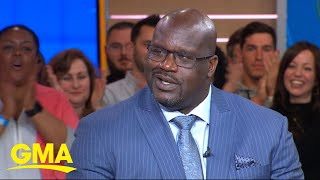 Shaquille O'Neal joins board of Papa John's | GMA