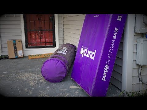 Unboxing - Purple Bed