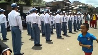 Mang Midun. PBB SMA 1 Pagaralam. Hut RI ke 69