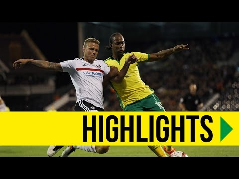 HIGHLIGHTS: Fulham 2-2 Norwich City