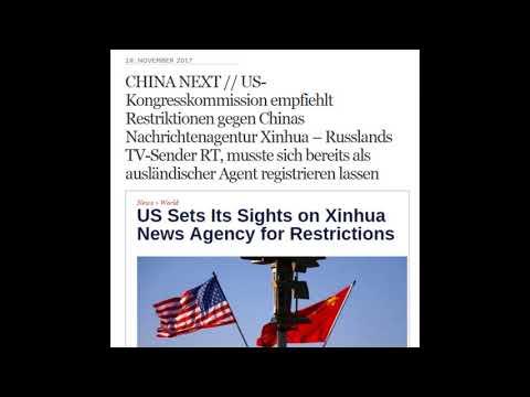 US-Kongresskommission will Restriktionen gegen Chinas Nachrichtenagentur Xinhua