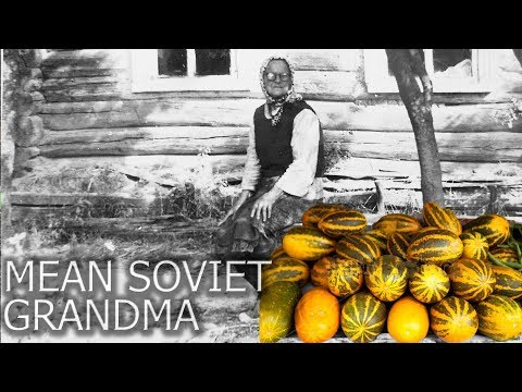 LIFE IN USSR 85. A story about my mean Soviet grandma. Storytime