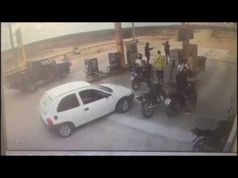 Posto de combustível e clientes são assaltados em Uauá-BA