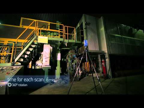 3D Laser Scanning Survey of a Paper Factory in Italy with Faro X330
