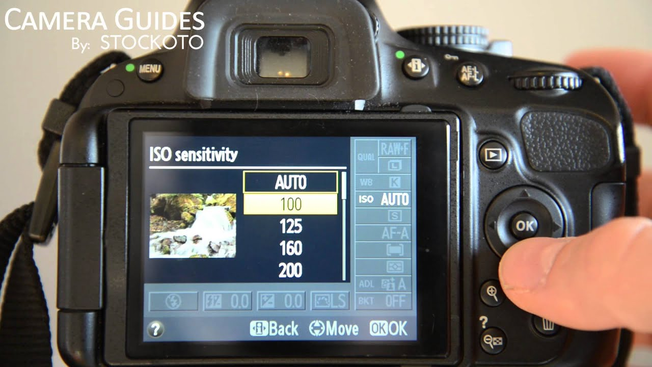 how to set iso settings on a nikon d5100 d5200 d5300 youtube rh youtube com D5100 Manual PDF Nikon D5100 Manual White Balance