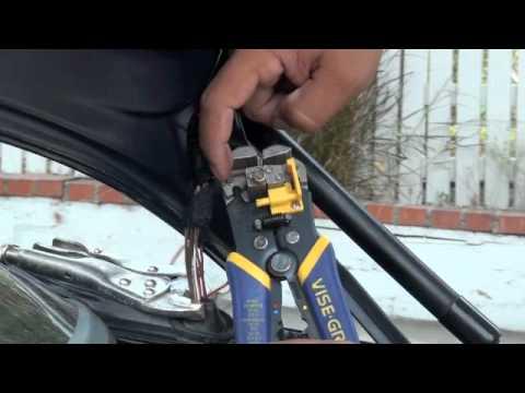 Power Door Lock Actuator Wiring Diagram Bmw Trunk Latch Problem Youtube
