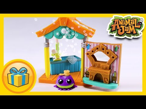 Animal Jam Toys - Pet Wash Hut!