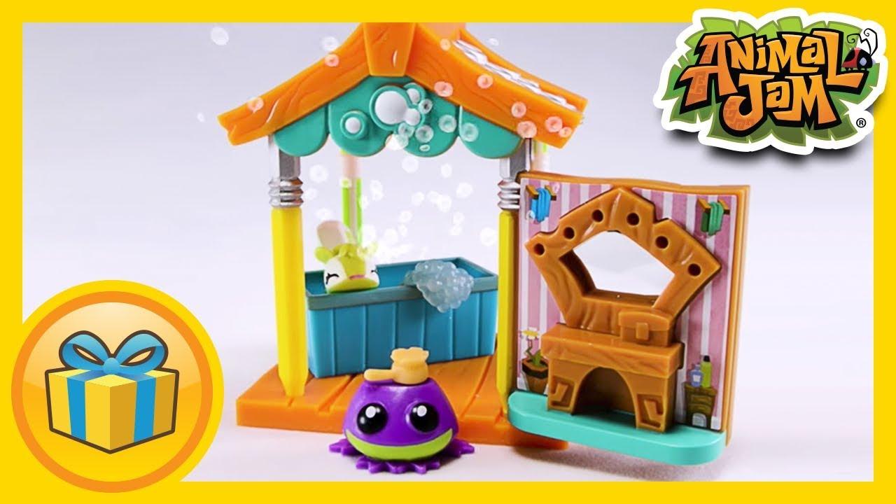 Animal Jam Toys Pet Wash Hut Youtube