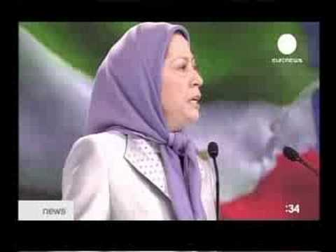 Euronews: 70.000 Iranians in Paris in support of PMOI!