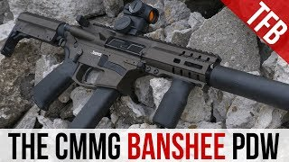 The Best 9mm AR15 PDW? The CMMG Banshee SBR and DefCan Silencer [from Silencer Shop]