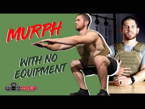 CrossFit Hero Workout MURPH (No equipment needed do it from home!)