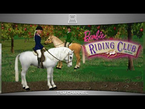 Barbie Riding Club (part 1) (Horse Game)   FunnyCat.TV