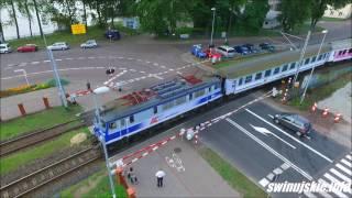 Przejazd kolejowy w Świnoujściu