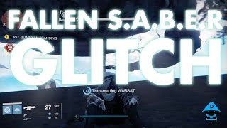 Destiny - Fallen S.A.B.E.R Glitch - Nightfall
