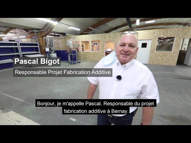 La fabrication additive chez Bernay Automation