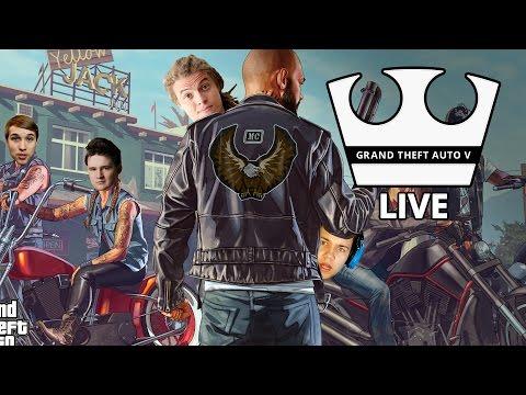 Jirka, MarweX, Baxtrix a Selassie Hraje - GTA V Online -  [PC] [LIVE]