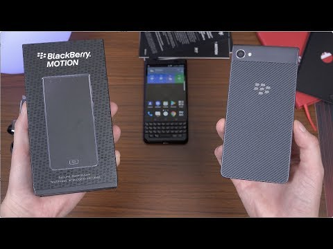 BlackBerry Motion Unboxing!