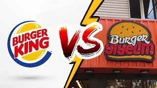 Burger King VS Butik Burger ( Karşılaştırma )