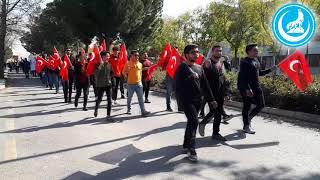 Şehit Fırat Yılmaz Çakıroğlu Yürüyüşü Akdeniz Üniversitesi Teşkilatı
