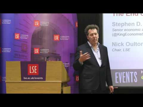 LSE Events | Stephen D. King | The End of Globalisation, the Return of History