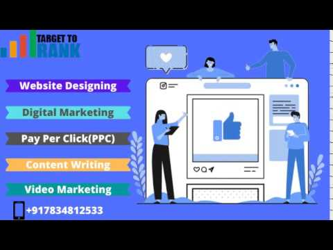 Target To Rank- Best Digital Marketing, Website Designing, Content Writing Services in India
