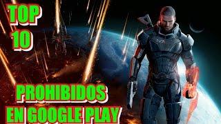 Top 10 Juegos Prohibidos de la GOOGLE PLAY (Descarga Apk) JeuxGameř