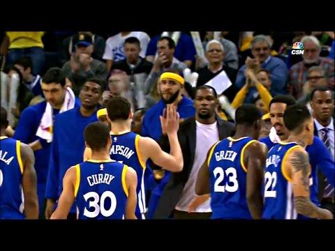 Warriors 2016-17: Game 73 VS Grizzlies