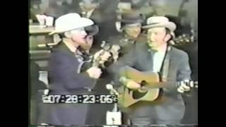 Lester Flatt and Bill Monroe   Little Cabin Home On The Hill