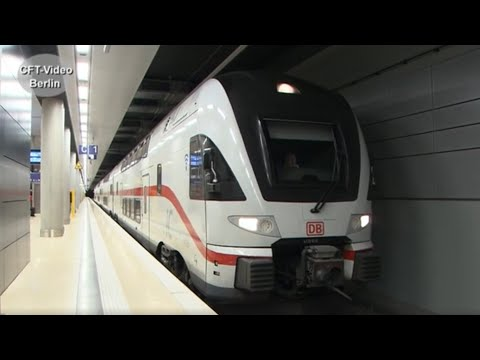 Flughafen-Bahnhof BER Terminal 1-2 in Betrieb