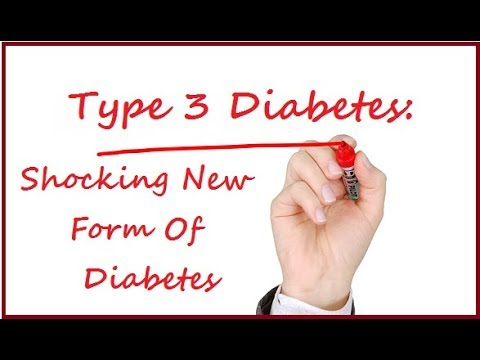 what is type 3 diabetes shocking new form of diabetes discovered