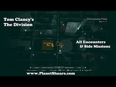 All Encounters & Side Missions - Pennsylvania Plaza - Tom Clancy's The Division
