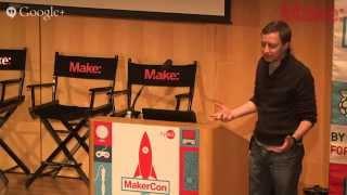 "MakerCon: Alasdair Allan and ""The Inevitability of Smart Dust"""