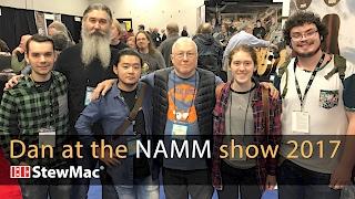 Dan Erlewine at the NAMM Show 2017