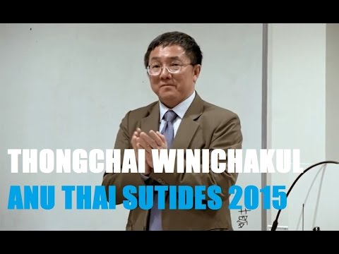 "Thongchai Winichakul on ""The Thais Educated Abroad (นักเรียนนอก)"""