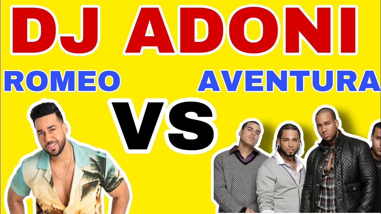 Aventura VS Romeo Santos En vivo con DJ ADONI ( Aventura mix ) ( Romeo Santos mix ) 2020