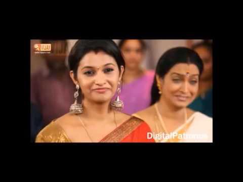 ARJUN & PRIYA Romance scenes..... from kalyanam muthal kadal varai serial