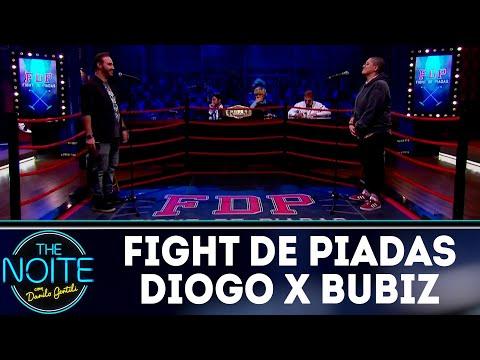 Fight de Piadas: Bubiz Barros x Diogo Portugal - Ep.20 | The Noite (23/07/18)
