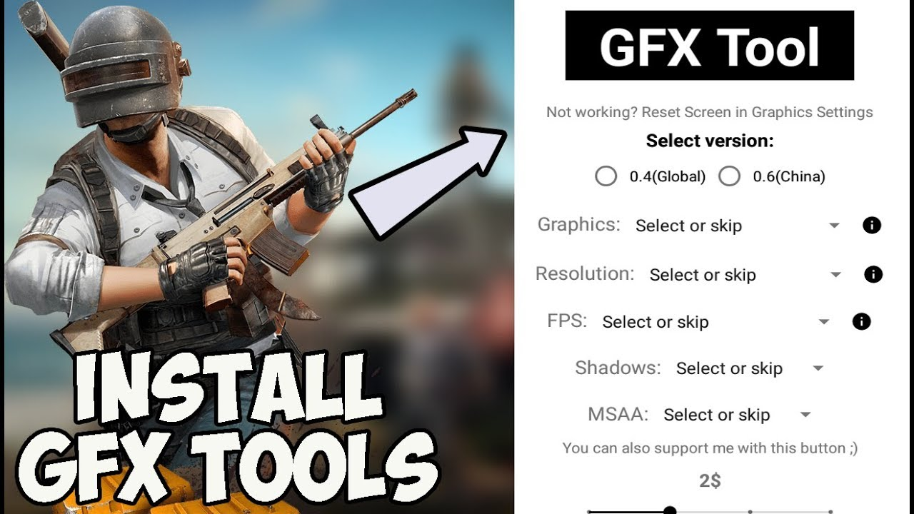 GFX Tools 4 5 1 PUBG Mobile Tencent Gaming Buddy Emulator - Retuwit