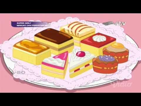 Chibi Maruko Chan Bahasa Indonesia - Pesta Kue di Rumah Maruko