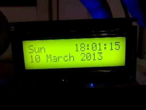 A NTP DCF77 LED Clock - poempelfox de