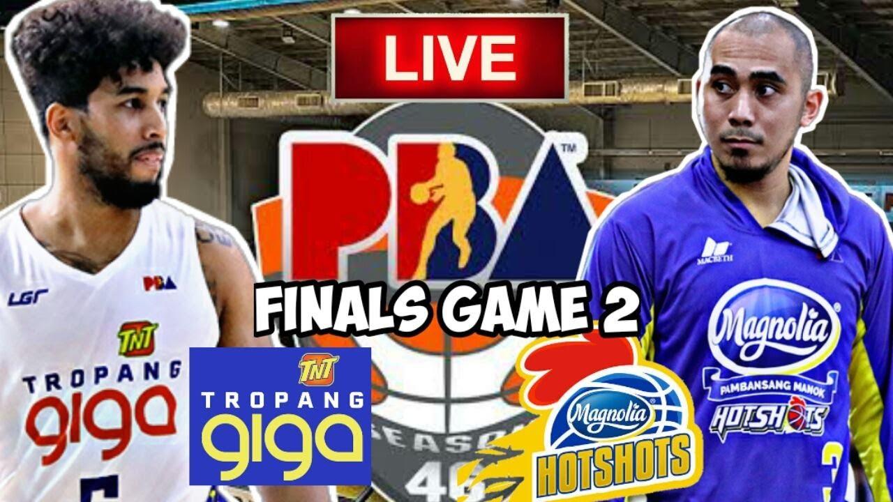 Download PBA LIVE 🔴: MAGNOLIA HOTSHOTS VS TNT TROPANG GIGA FINALS GAME 2 LIVE PLUS FREE ENDING