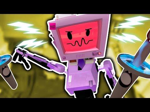EVIL JOB BOT'S REVENGE IN CURSED JOB SIMULATOR | Budget Cuts VR (Lets Play HTC Vive Gameplay)