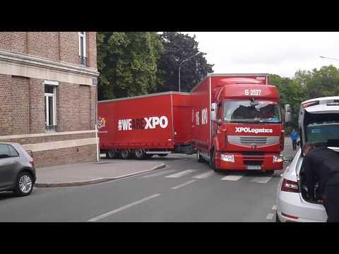 Amiens 80 Camion Renault avec remorque - vidéo 01