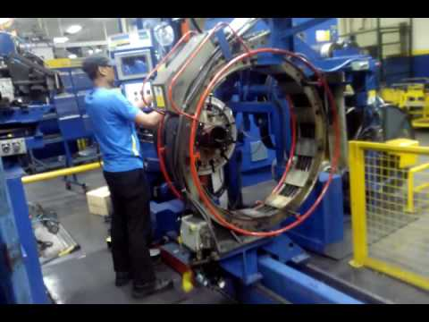 #goodyear malaysia tyre building mechine